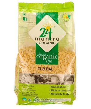 Picture of 24 MANTRA Toor Dal (Certified ORGANIC)