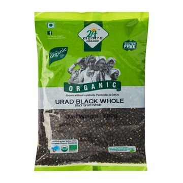 Picture of 24 MANTRA  Black Urid Dal Whole (Certified ORGANIC)