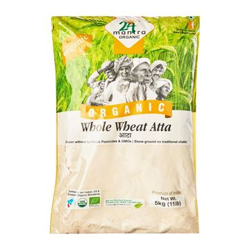 Picture of 24 MANTRA Whole Wheat Atta (Certified ORGANIC)