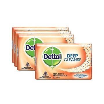 Picture of Dettol Bar Soap - Deep Cleanse  (Buy 3 Get 1 Free!)