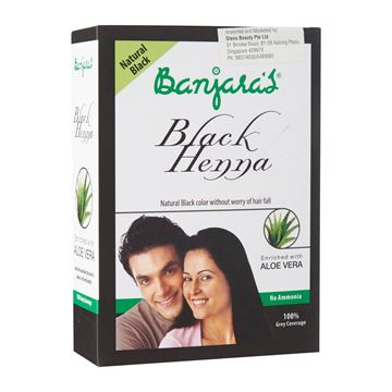 Picture of BANJARA'S Black Henna Aloe Vera Powder