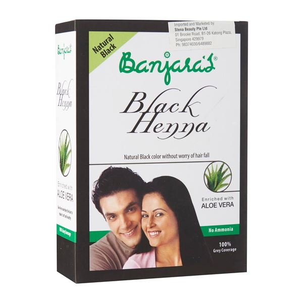 d37062f6f Picture of BANJARA'S Black Henna Aloe Vera Powder