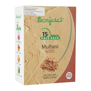 Picture of BANJARA'S 15MFP Multani Mitti Face Pack