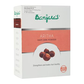 Picture of BANJARA'S  Pure Herb Aritha Hair Care Powder
