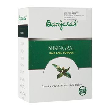 Picture of BANJARA'S  Pure Herb Bhring Raj Hair Care Powder