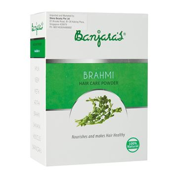Picture of BANJARA'S  Pure Herb Brahmi Hair Care Powder