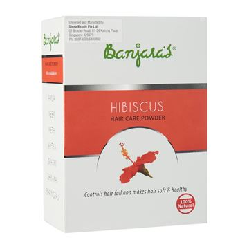 Picture of BANJARA'S  Pure Herb Hibiscus Hair Care Powder
