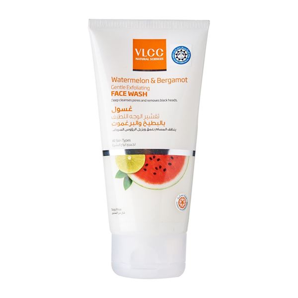 Picture of VLCC Watermelon And Bergamot Gentle Exfoliating Face Wash