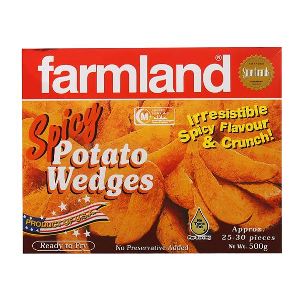 Picture of Farmland Spicy Potato Wedges (Chilled)