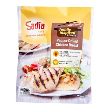 Picture of Sadia Pepper Grilled Chicken Breast (Fully Cooked) - Frozen