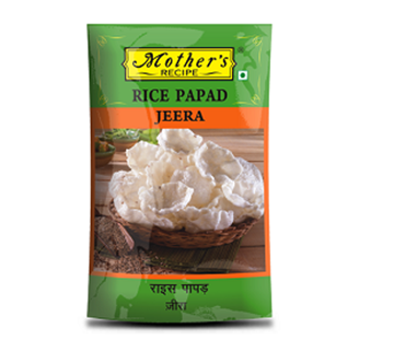 Picture of MOTHER'S RECIPE  Rice Papad Jeera