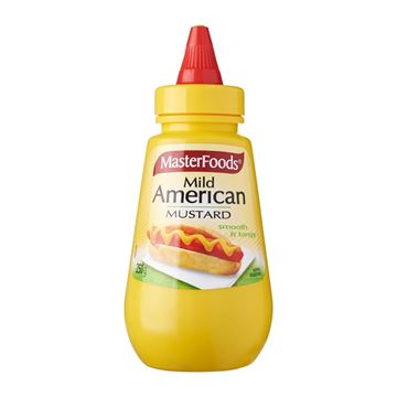 Picture of Masterfoods Mild American Mustard  Squeezy Bottle