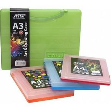 Picture of Plastic Box File - A4 Size (20 Mm)