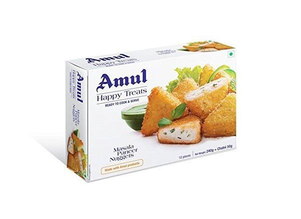 Picture of Amul Masala Paneer Nuggets Frozen (India)