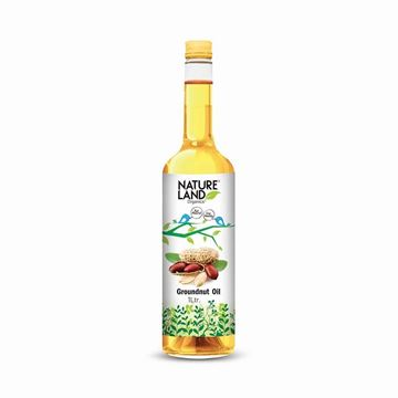 Picture of NATURELAND Groundnut Oil (Certified ORGANIC)