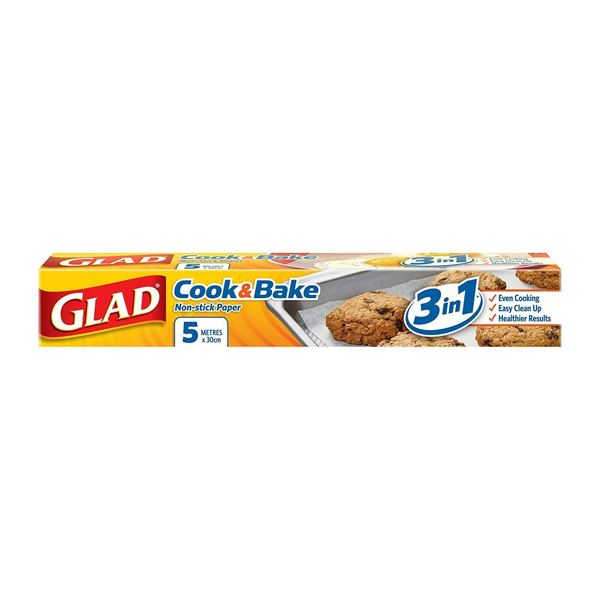 Picture of GLAD Bake Non  Stick Baking and Cooking Paper