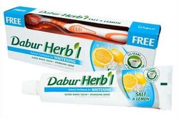 Picture of Dabur Herbal Salt & Lemon Whitening Toothpaste