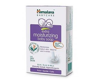 Picture of Himalaya Herbals  Moisturizing Baby Soap