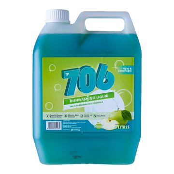 Picture of TP 706 Dishwashing Liquid Green Apple Flavor