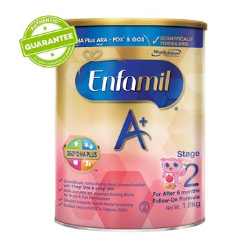 Picture of Enfamil A+ 360 DHA Plus Baby Formula Milk    Stage 2