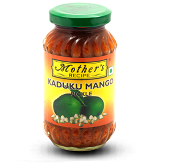 Picture of MOTHER'S RECIPE  Kaduku Mango Pickle