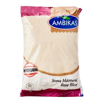 Picture of Ambika's Sona Masoori Rice (Raw Rice)
