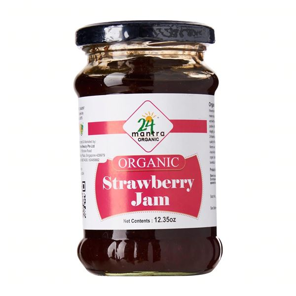 Picture of 24 MANTRA  Strawberry Jam (Certified ORGANIC)