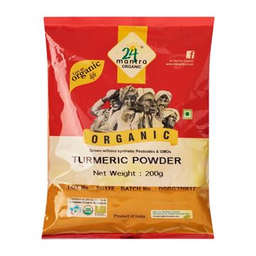 Picture of 24 MANTRA Turmeric Powder (Certified ORGANIC)