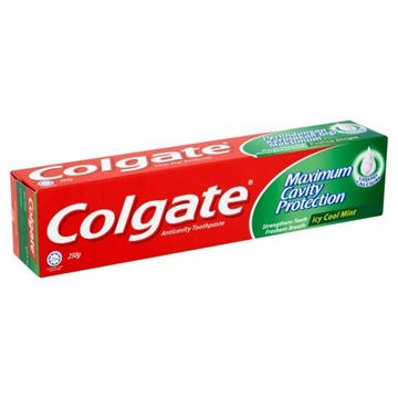 Picture of Colgate Maximum Cavity Protection Toothpaste Icy Cool Mint