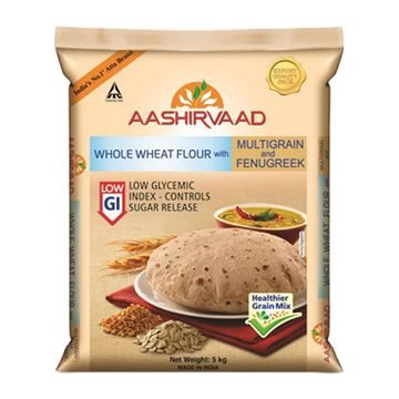 Picture of Aashirvaad Sugar Release Control Atta (Wheat Flour)