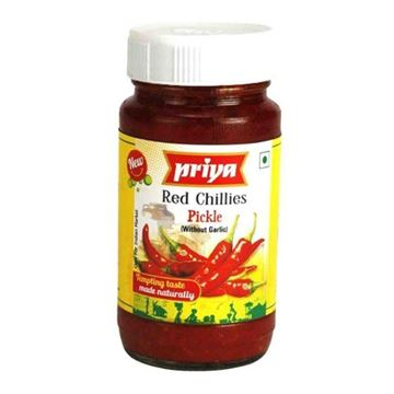 Picture of Priya Red Chilli Pickle