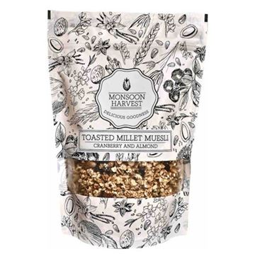 Picture of Monsoon Harvest Muesli Almond & Cranberry (Certified ORGANIC)