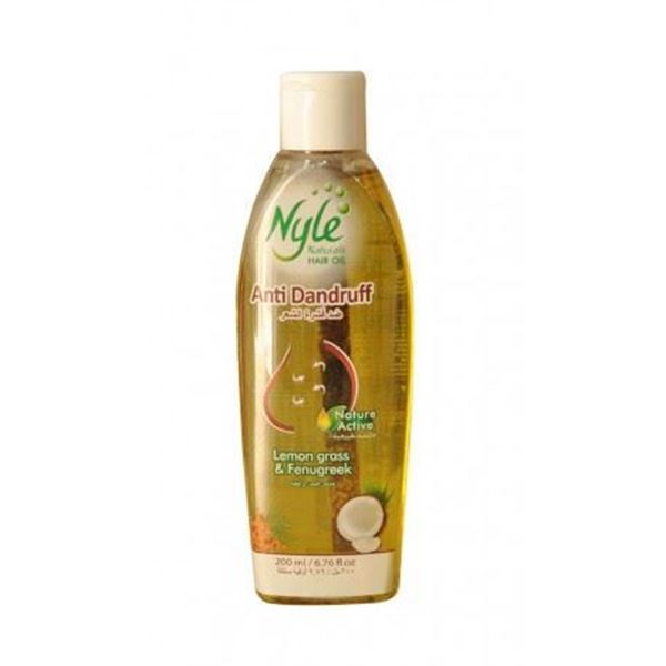 Picture of Nyle Anti Dandruff Herbal Hair Oil With Lemongrass & Fenugreek