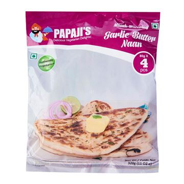 Picture of PAPAJI'S  Garlic Butter Naan   Frozen
