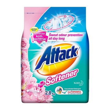 Picture of Attack Powder Detergent Plus Floral Softner