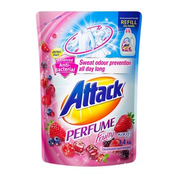 Picture of Attack Perfume Plus Fruity Liquid Detergent Refill