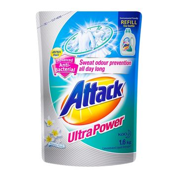 Picture of Attack Ultra Power Liquid Detergent Refill Pack