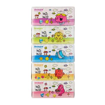 Picture of BEAUTEX Mr Men and Little Miss Pure Pulp 3 Ply Box Tissues
