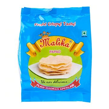 Picture of MALIKA Madras Plain Papad