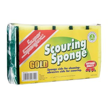 Picture of Leopard Gold Series Scouring Sponge