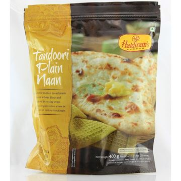 Picture of Haldiram's Tandoori Plain Naan (Chilled)