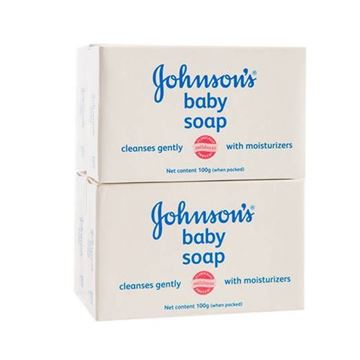 Picture of Johnson's Baby Soap    White