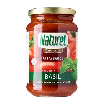 Picture of Naturel Tomato with Basil Pasta Sauce (Certified ORGANIC)
