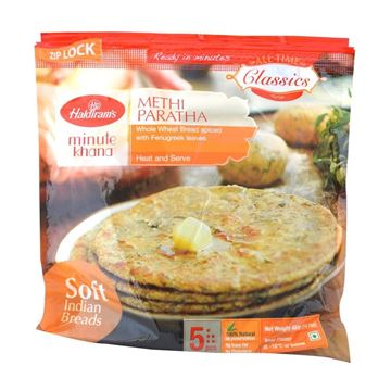 Picture of Haldiram's Methi Paratha (Chilled)