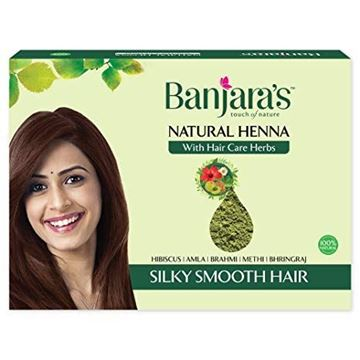 Picture of BANJARA'S Natural Henna With Hair Care Herbs