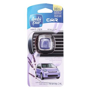 Picture of Ambi Pur Car Mini Clip Lavender Comfort