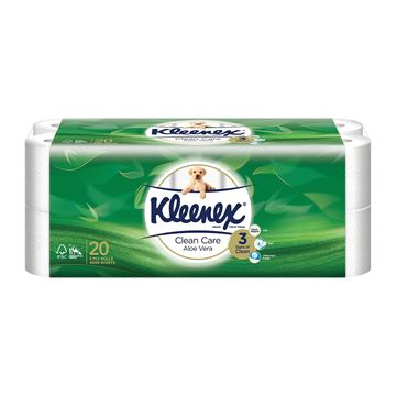 Picture of Kleenex Ultra Soft Aloe Vera Clean 3 Ply Toilet Tissue