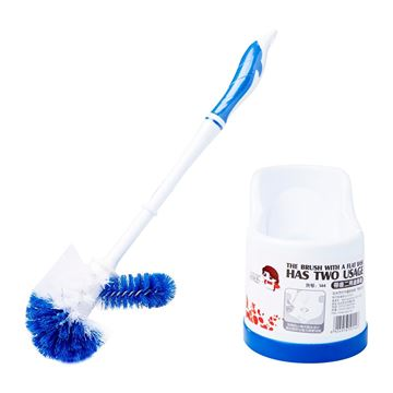 Picture of Leopard Toilet Brush Set