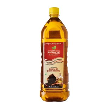 Picture of Paripoorna Pure Natural Chekku Wood/ Cold Pressed Sesame/Gingelly Oil