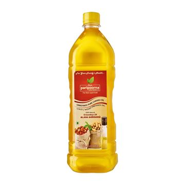 Picture of Paripoorna Pure Natural Chekku Wood/Cold Pressed Groundnut Oil